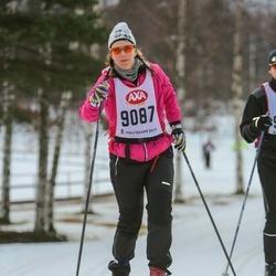 Skiing 45 km - Jenny Tideström (9087)