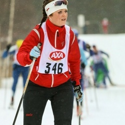 Skiing 45 km - Anna Larsson (346)