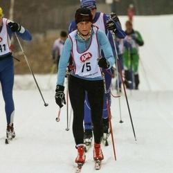 Skiing 45 km - Karin Bengtsson (75)