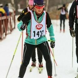 Skiing 45 km - Elisabet Björklund (1421)