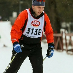Skiing 45 km - David Neskvern (3136)
