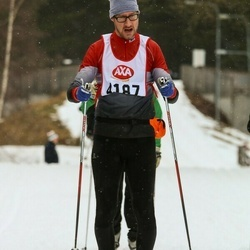 Skiing 45 km - Mikael Johansson (4187)