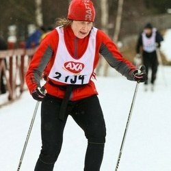 Skiing 45 km - Hilde Axelsson (2434)