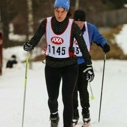 Skiing 45 km - Anna Törmänen (1145)