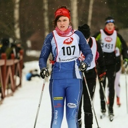 Skiing 45 km - Jessica Persson (107)