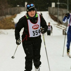 Skiing 45 km - Ellinor Sparby (354)