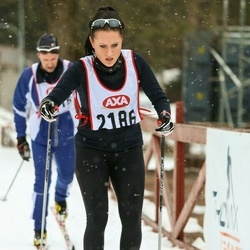 Skiing 45 km - Sandra Danielsson (2186)