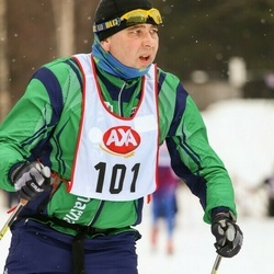 Skiing 45 km - Mikael Nilsson (101)