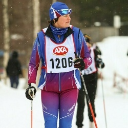 Skiing 45 km - Ann Frisk (1206)