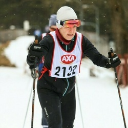Skiing 45 km - Anette Wickholm (2122)