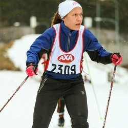Skiing 45 km - Christina Guri (2309)