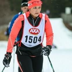 Skiing 45 km - Caroline Casparson (1504)