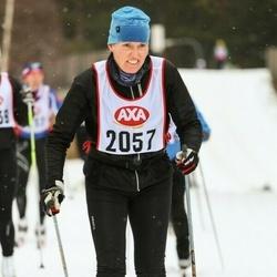 Skiing 45 km - Catharina Andersson (2057)
