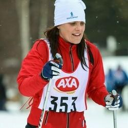 Skiing 45 km - Ann Cristin Wallin (353)