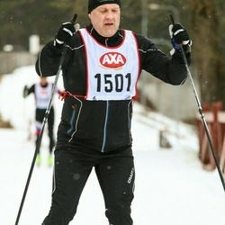 Skiing 45 km - Mikael Svensson (1501)