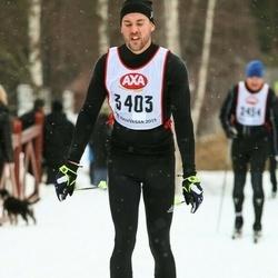 Skiing 45 km - Mathieu Wahl Almqvist (3403)