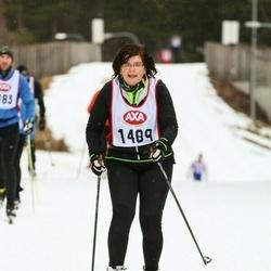 Skiing 45 km - Ingela Andersson (1489)