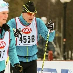 Skiing 45 km - Dennis Jansson (4536)