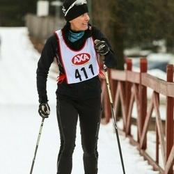 Skiing 45 km - Agneta Sjödin (411)