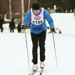 Skiing 45 km - Carl Johan Hedbeck (5109)