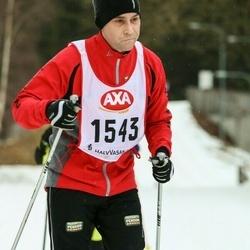 Skiing 45 km - Mikael Romell (1543)