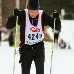 Skiing 45 km - Johan Lindén (4240)