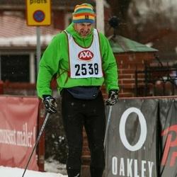 Skiing 45 km - Richard Björkqvist (2538)
