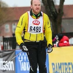 Skiing 45 km - Mattias Thelander (6493)