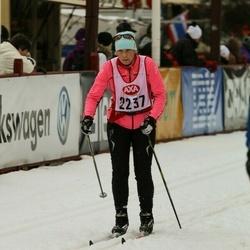 Skiing 45 km - Hilde Jess (2237)