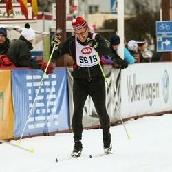 Skiing 45 km - Jonas Samuelsson (5619)