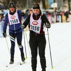 Skiing 45 km - Jannice Axelsson (2036)