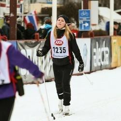 Skiing 45 km - Angelica Gedlund (1235)