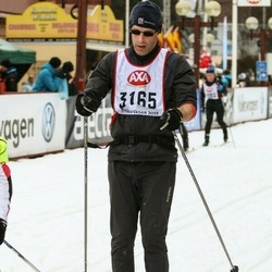 Skiing 45 km - Magnus Johansson (3165)