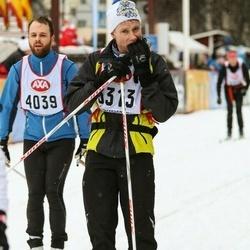 Skiing 45 km - Tomas Wallén (3313), Markus Alfredsson (4039)