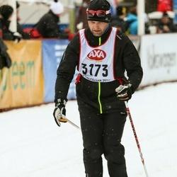 Skiing 45 km - Rickard Sellman (3173)