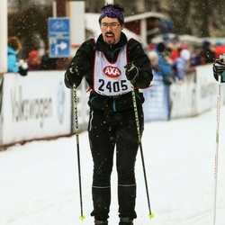 Skiing 45 km - Ambjörn Lätt (2405)