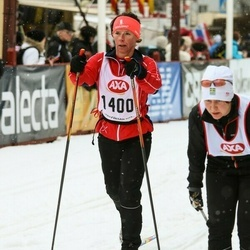 Skiing 45 km - Kristine Perslow (1400)