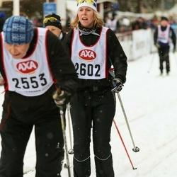 Skiing 45 km - Åsa Lovén (2602)