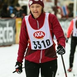 Skiing 45 km - Gunilla Larsson (3310)