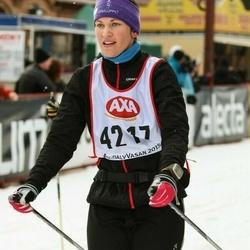 Skiing 45 km - Helena Kardell (4217)