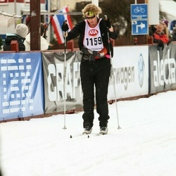 Skiing 45 km - Camilla Jarlfors (1159)