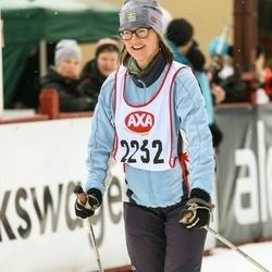 Skiing 45 km - Bodil Jansson (2232)