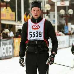 Skiing 45 km - Mikael Bergström (5339)