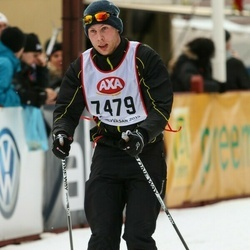 Skiing 45 km - Mikael Holmer (7479)
