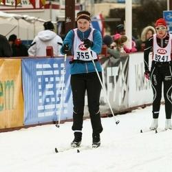 Skiing 45 km - Frida Änges (3551)