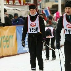 Skiing 45 km - Bodil Pedersen (1380)