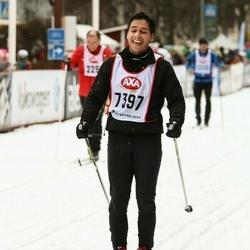 Skiing 45 km - Jonas Danielsson (7397)