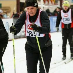 Skiing 45 km - Annette Boije (4037)