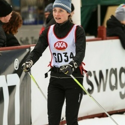 Skiing 45 km - Malin Källgården (6034)