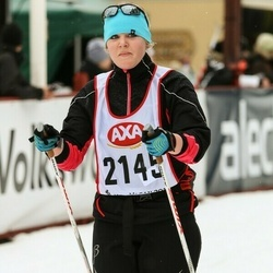 Skiing 45 km - Therese Danielsson (2145)